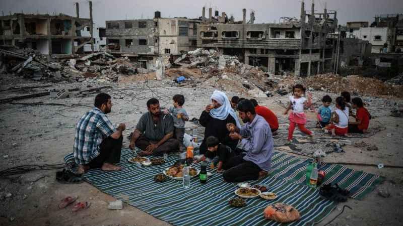 Gazze bu Ramazan da Siyonist İsrail'in ablukası altında!