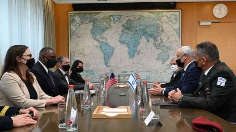 """ABD-İsrail ilişkilerinde tam gaz! Austin, """"Güçlü bir bağımız var"""""""