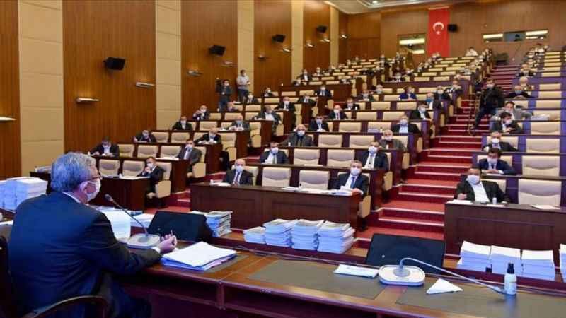 Ankara Büyükşehir Belediyesi Meclisi'nde söz sırası gerginliği