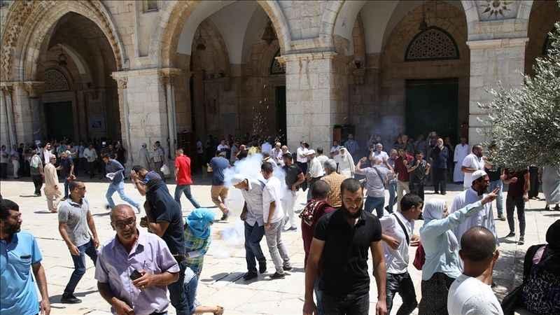 Ramazan'ın ilk gününde Mescid-i Aksa'ya 200'ü aşkın Yahudi baskını!