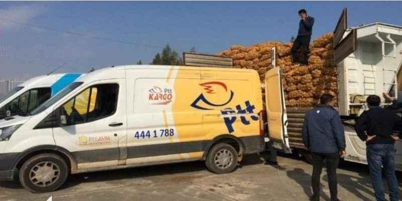 """""""PTT çalışanları patates-soğan taşımaya zorlanıyor"""""""
