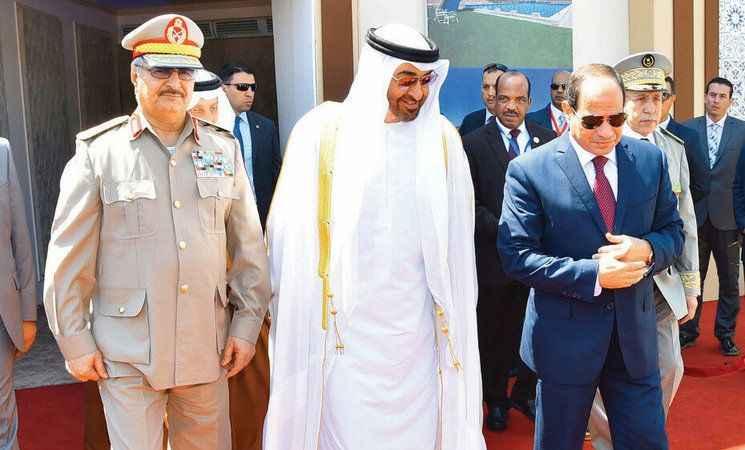 Darbeci Sisi Libya'da Hafter'e silah göndermeye devam ediyor!