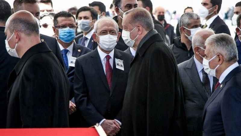 Cumhurbaşkanı Erdoğan, Kemal Kılıçdaroğlu'na selam vermedi