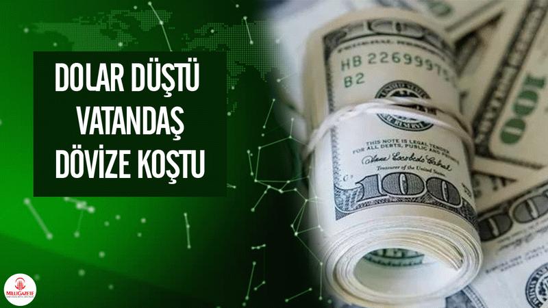 Dolar düştü, 3 günde döviz mevduatı 2.1 milyar dolar arttı