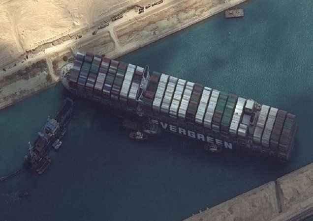 Süveyş'te kriz büyüyor! Mısır'dan Japonya'ya 900 milyon dolar tazminat