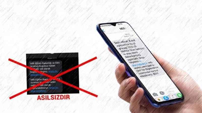 Milli Eğitim Bakanlığından velilere 'sahte SMS' uyarısı