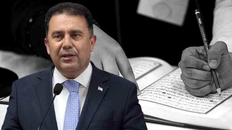 KKTC Başbakanı Saner Kur'an kurslarının yasaklanması söz konusu değil