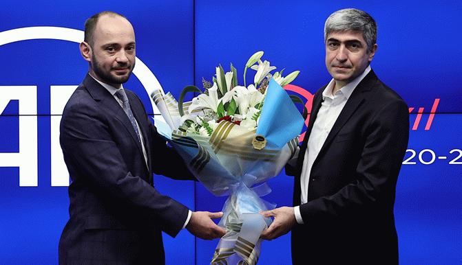 Anadolu Ajansı'nda Metin Mutanoğlu görevini Yusuf Özhan'a devretti
