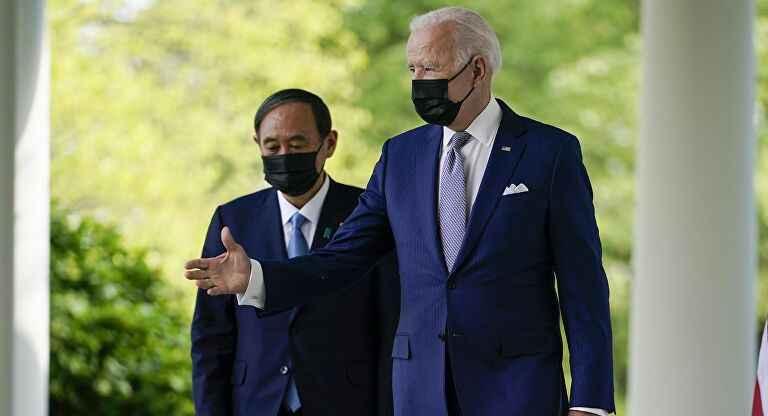 Biden-Suga Beyaz Saray'da görüştü! Çin'e karşı ABD-Japon ittifakı!