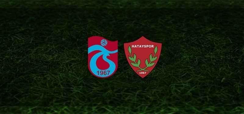 Trabzonspor - Hatayspor maçı canlı izle (Bedava beIN Sports izle)