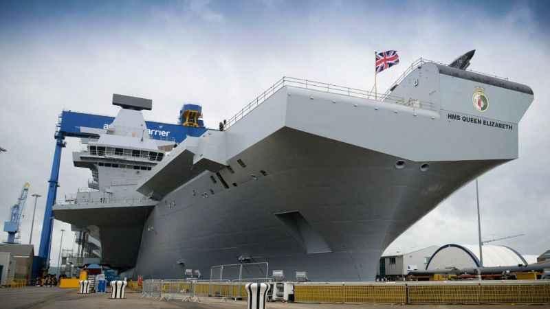 İngiltere'den Rusya'ya gözdağı! Queen Elizabeth Karadeniz'e açılıyor!