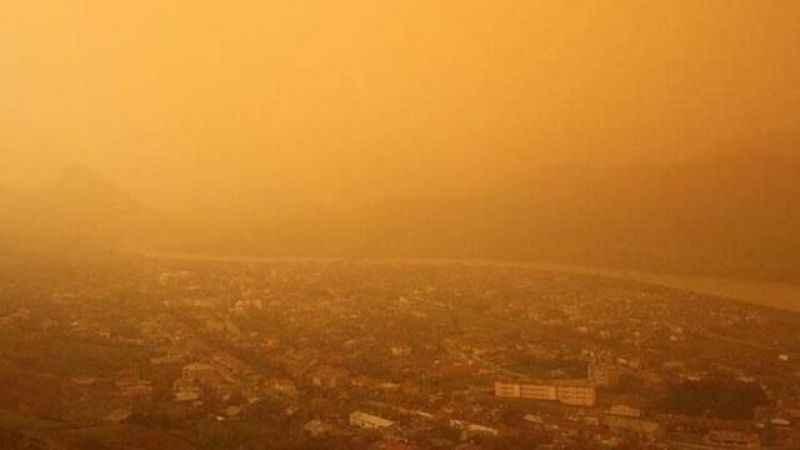 Ülke geneline 'çöl tozu' uyarısı: Bu tarihe kadar dikkat!