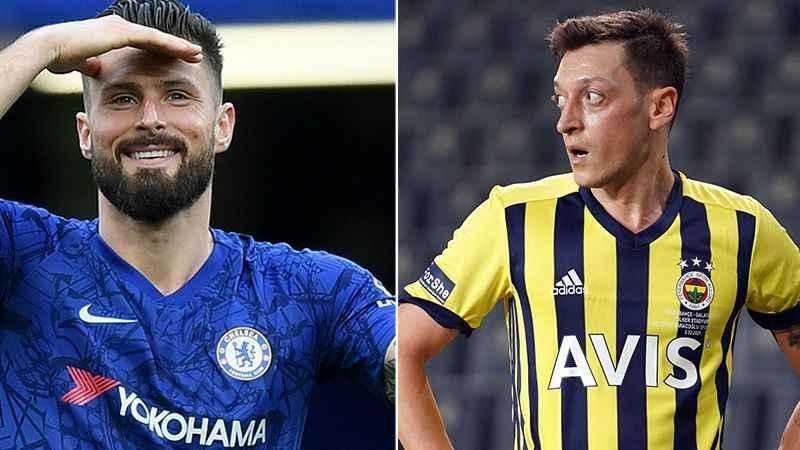 Mesut Özil, Olivier Giroud için devrede iddiası