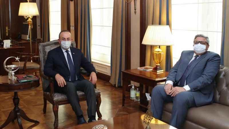 Çavuşoğlu Rus Büyükelçisi Yerhov ile görüştü!