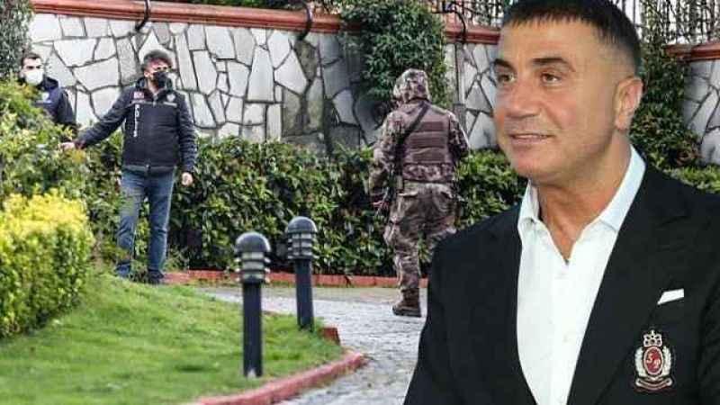 Evine baskın yapılmıştı! Sedat Peker'in nerede olduğu ortaya çıktı!