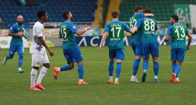 Çaykur Rizespor geriye düştüğü maçta 3 puanı 5 golle aldı