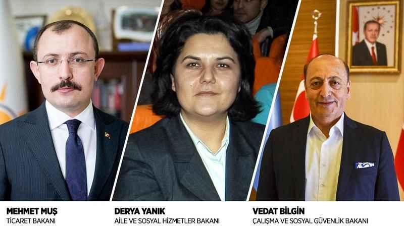 Derya Yanık, Vedat Bilgin ve Mehmet Muş'a tebrik mesajları