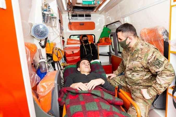 12 Dağlık Karabağ'da gazisi Türkiye'de tedavi edilecek