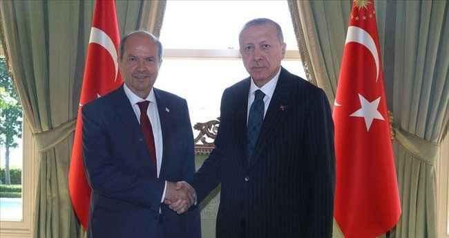Tatar, 5+BM toplantısı öncesi Cumhurbaşkanı Erdoğan ile görüşecek