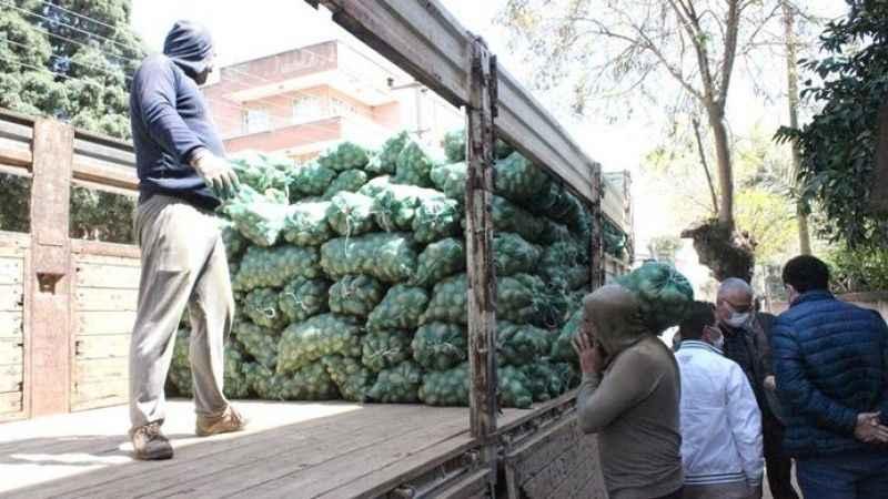 DEVA Partisi'nden patates dağıtımı tepkisi