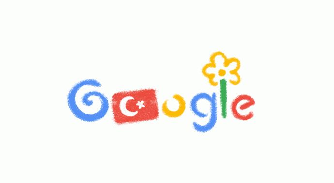 Google 23 Nisan'a özel logo tasarladı