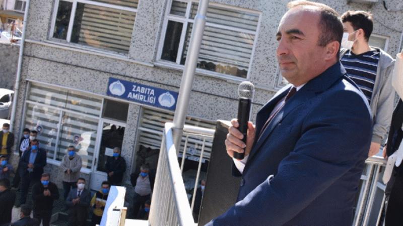 Yolsuzlukla suçlanan MHP'li başkan balkona çıktı: Avucunuzu yalayın