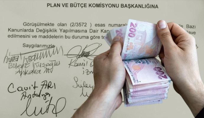 Bayram ikramiyesi bin 500 TL olsun teklifi Meclis'te reddedildi