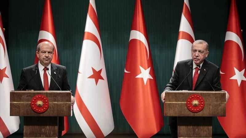 Cumhurbaşkanı Erdoğan'dan Ersin Tatar'a başsağlığı