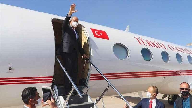 """Kıbrıs zirvesi Cenevre'de başlıyor! Tatar: """"En büyük gücümüz Türkiye"""""""
