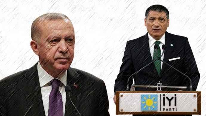 İYİ Partili Nuri Okutan'dan Erdoğan'a Vatan arsa değildir, özür dile