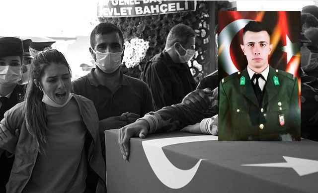 Şehit Teğmen Mehmet Kıvık'ın kız kardeşi yürekleri dağladı