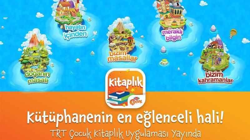 TRT Çocuk Kitaplık uygulamasını ilk 3 günde 100 bin kişi indirdi