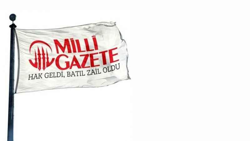 Milli Gazete Bayrak