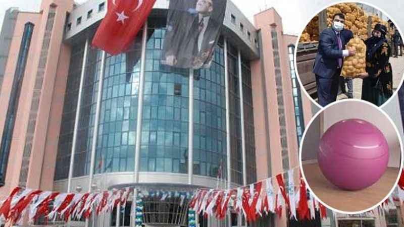 AKP'li belediyeden vatandaşa ilginç hediye! Patates yerine pilates