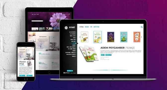 Diyanet, dijital içeriklerin yer aldığı yeni internet sitesini duyurdu