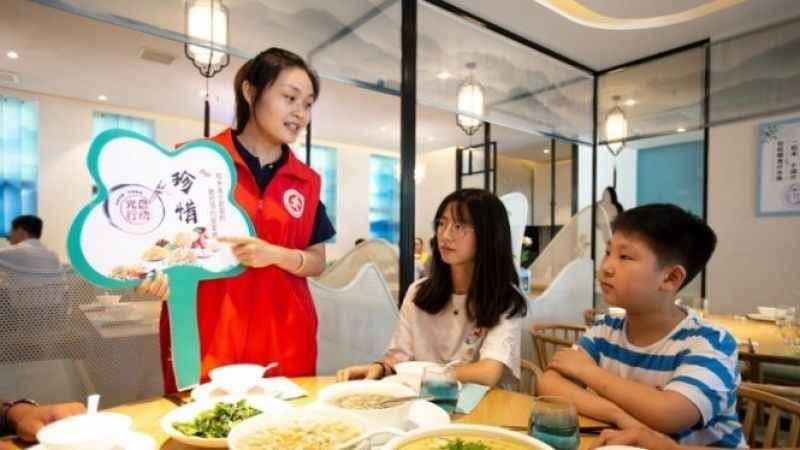 Çin'de yemek israfı yasaklandı
