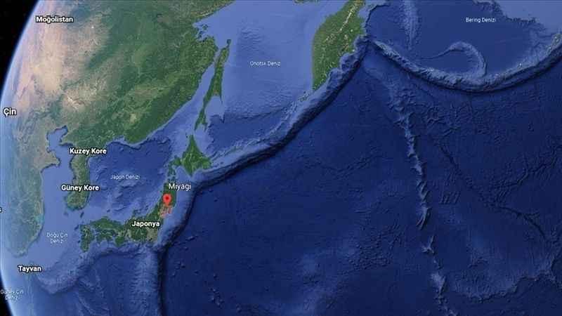 Japonya'da 6.8 şiddetinde deprem