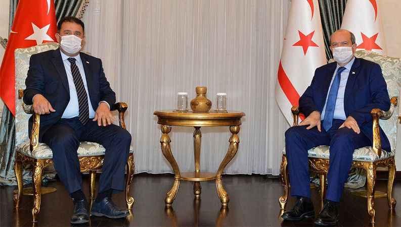 KKTC Cumhurbaşkanı Ersin Tatar ve Ersan Saner'den 1 Mayıs mesajı