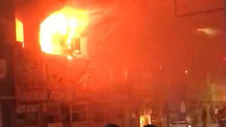 Adana Merkez Otogarı'nda yangın çıktı