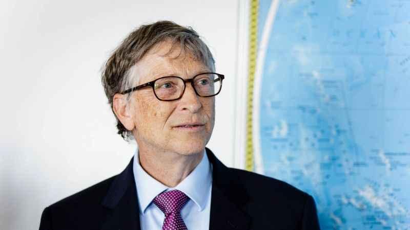 Barlas'tan dikkat çeken korona yazısı: Bill Gates tekin bir adam değil