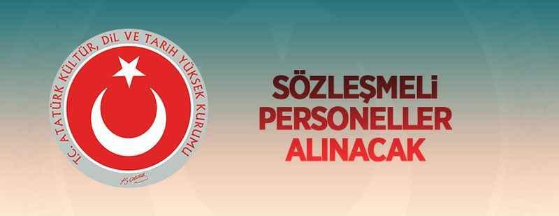 Atatürk Kültür, Dil ve Tarih Yüksek Kurumu sözleşmeli personel alacak
