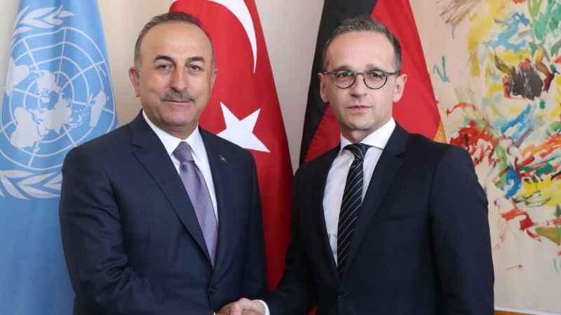 Son Dakika: Çavuşoğlu, Alman mevkidaşı Maas ile görüştü
