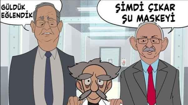 CHP'den AKP'nin 'animasyon filmi'ne cevap: Maskeyi çıkardılar!