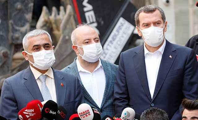 Zeytinburnu Belediye Başkanı: Burada, kısıtlama olmasaydı pazar kurulacaktı