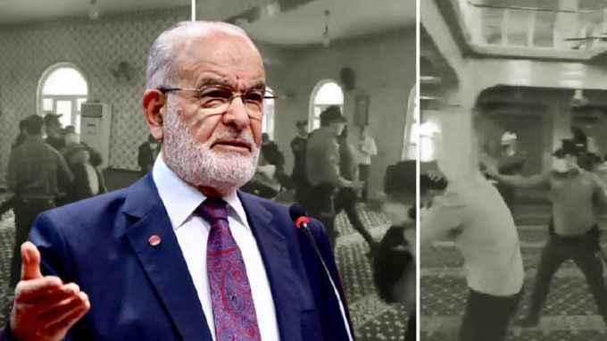 Karamollaoğlu'ndan camide müdahaleye tepki: Herkes hassas davranmalı
