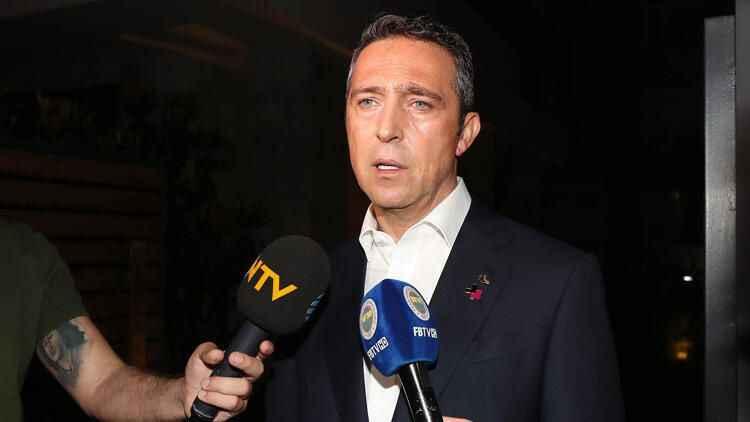 Ali Koç'tan galibiyet sonrası şampiyonluk ve Emre Belözoğlu sözleri