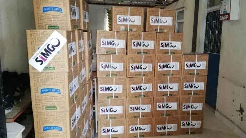 SİMGO'nun yardım faaliyetleri sürüyor! İhtiyaç sahipleri unutulmadı