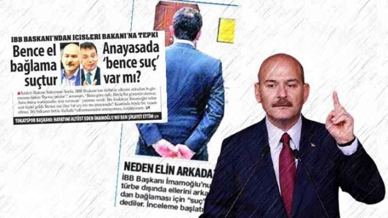 Bakan Soylu, sosyal medyadan Karar ve Sözcü gazetelerini hedef aldı