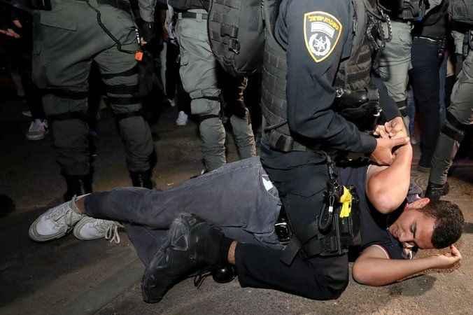 Kudüs'te Siyonist İsrail terörü! Söz konusu Müslüman olunca...