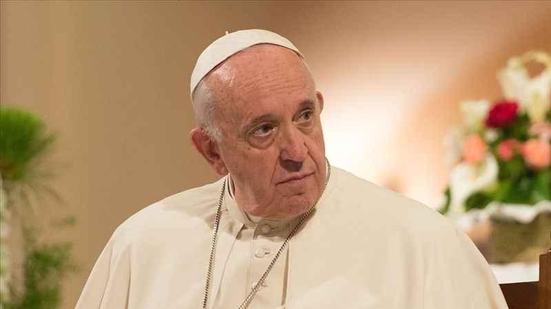 Siyonist İsrail'e Papa'dan da çağrı geldi! Endişeyle takip ediyorum!